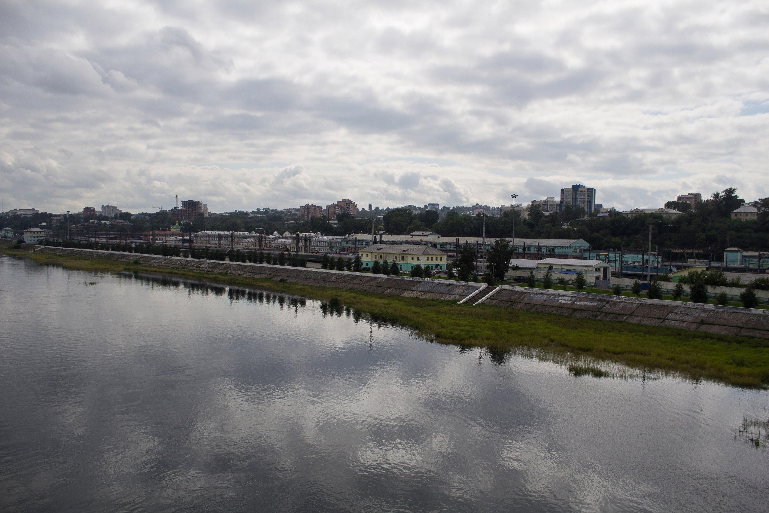 Иркутск. Ангара