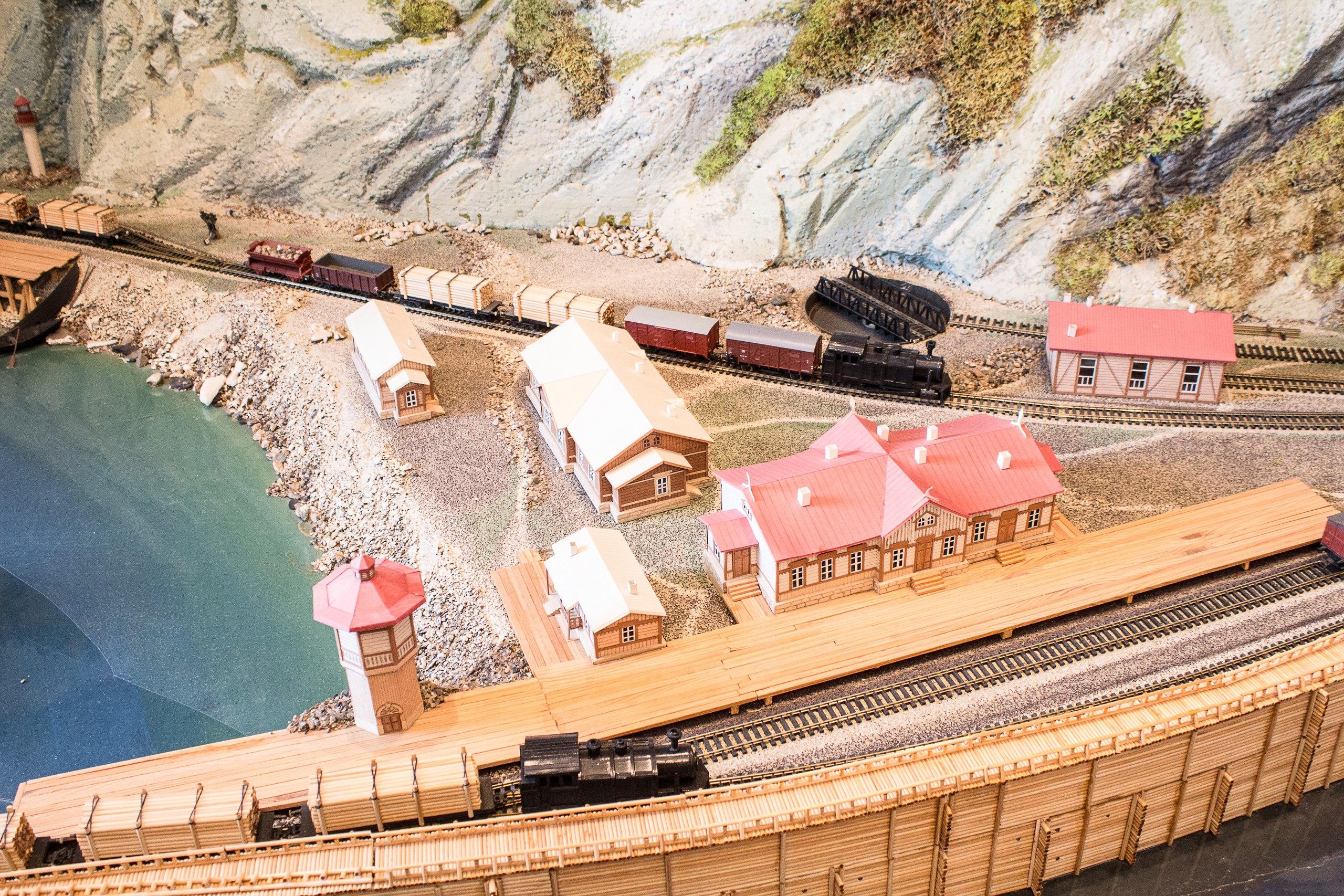 в музее посвященном кругобайкальской железной дороге