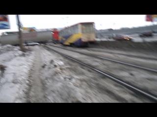 Внешнее дорожное по Лакокраске, Челябинск 21.02.17