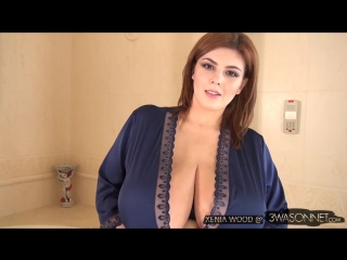 Xenia Wood (aka Нина Потрапелюк) - In An Open Robe [HD 1080, Big Tits, Ass, Busty, Beautiful, Model, Пышки, Сиськи, Украинки]