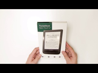 ВИДЕО. Обзор PocketBook Basic Touch 2