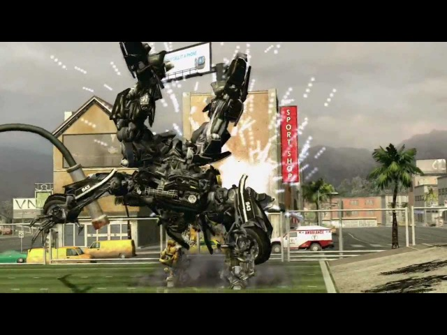 Transformers The Game - Trailer 2 - PS3 Xbox360 PC