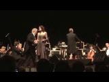 Placido Domingo, Anna Maria Martinez and the LA Opera Orchestra.