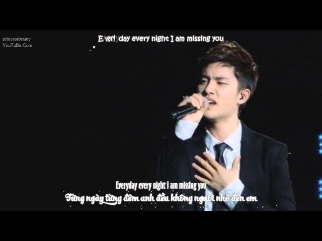 [Vietsub Kara Engsub] 120818 Missing you - EXO D.O. Ryeowook @ DVD SM TOWN live tour in Seoul