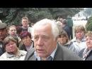 У Хмельницькому під апеляційним судом мітингують селяни id= graf title