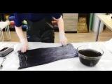 Крашение шелка ✿ Как получить переход цвета  ✿  МК Ольги Никишовой