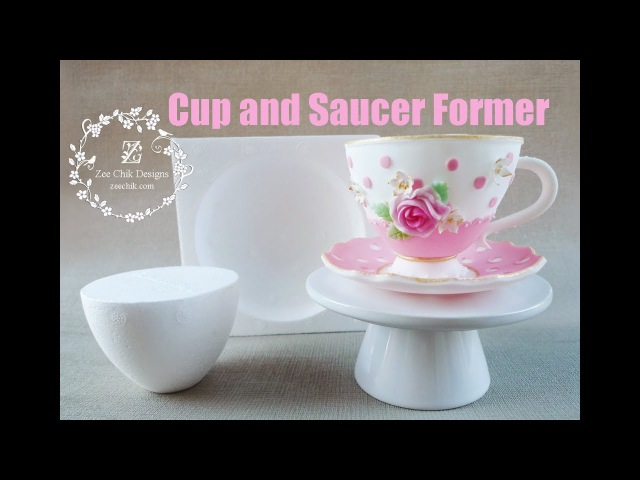 Cup and Saucer former by Zee Chik