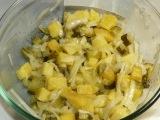 Картофельный салат на ужин всего 3 ингредиента ?? Салаты быстрого приготовлен...
