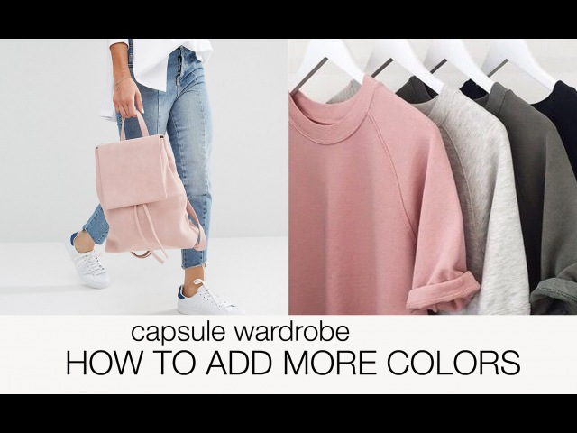 Capsule wardrobe guide: how to add more colors!