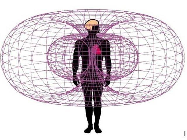 Торсионные поля вокруг человека. Часть-1