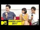 Ben Schwartz Danny Pudi Kate Micucci on 'DuckTales' Comic Con 2017 MTV