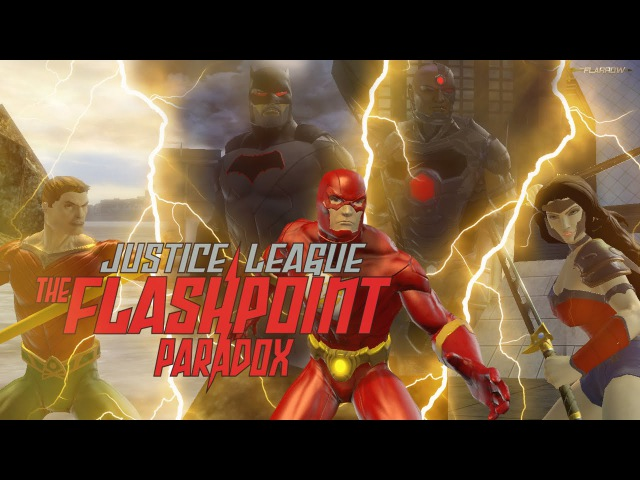 DCUO Team Flarrow Justice League The Flashpoint Paradox Trailer 2013