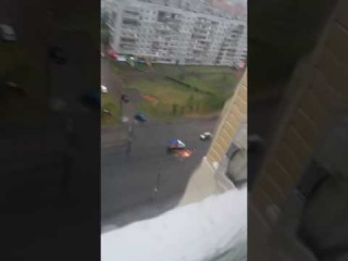 Замкнуло провода на ул. Кирова (09.06.2017)
