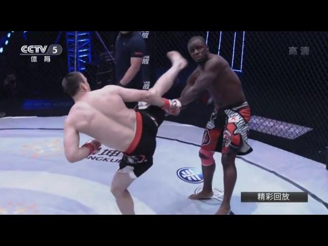 Melvin Guillard USA vs Muslim Salikhov RUSSIA KUNLUN MMA 12 6 1 2017 BIG KO