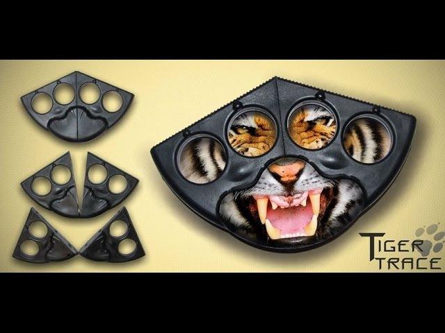 Разрешенный и Законный Кастет TIGER TRACE: видео-обзор