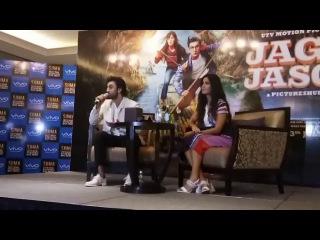 Ranbir Kapoor and Katrina kaif Live video from Abu Dhabi | Jagga Jasoos