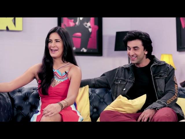 Ranbir Kapoor,Katrina Kaif with Dr. Sanket Bhosle on the Baba ki chowki | Jagga Jasoos promotion
