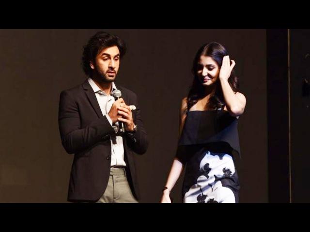 Ranbir Kapoor And Anushka Sharma At YRF's New Talent Launch - Aadar Jain, Anya Singh