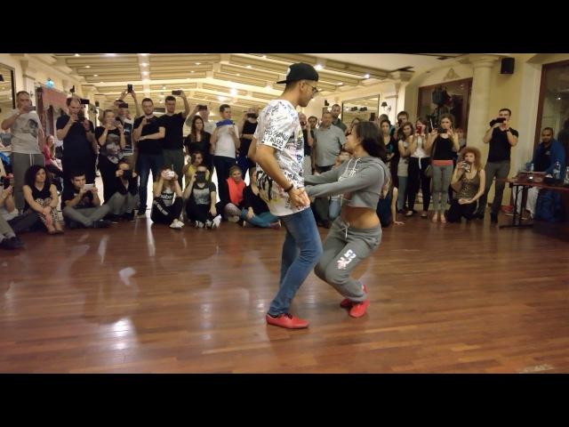 Samy el Magico Carolina Borrego Rosa footwork and partnerwork