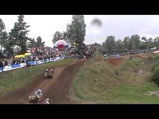 ЧМ по мотокроссу с колясками Каменск- Уральский 2011