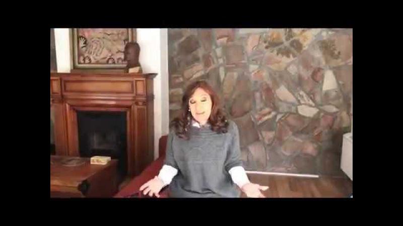 Cristina Kirchner /vandalic attack in Santa Cruz