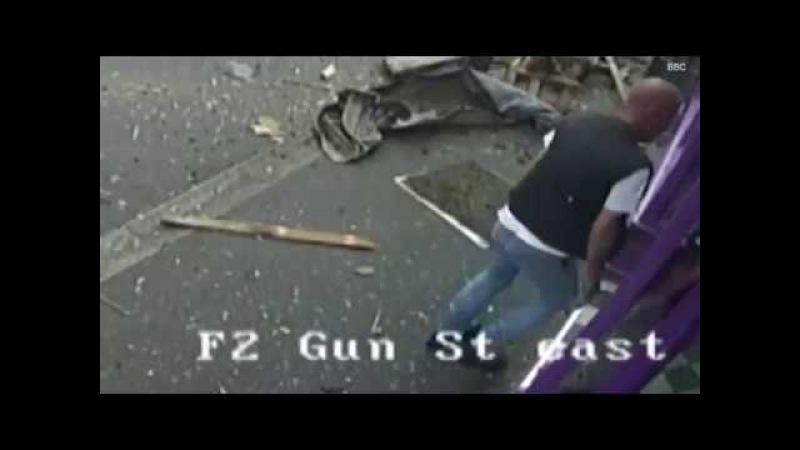 Британец, которого сбил автобус, поднялся на ноги и пошел в паб