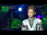 120920 exo-k kai&ampchanyoel Lie sang bong eco fashion show