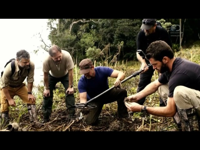 В поисках сокровищ: змеиный остров 2 сезон 7 серия Discovery