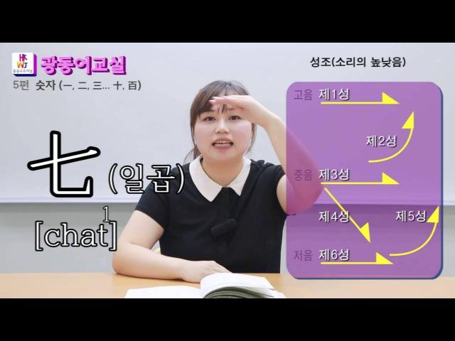 [홍콩수요저널] 홍콩에서 배우는 광동어교실 (5)편 - 숫자 (一, 二... 十, 百)