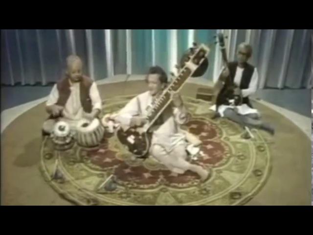 Sitar Tabla Legends: Ravi Shankar All Rakha: Live: London : 1978: Improved Video Quality