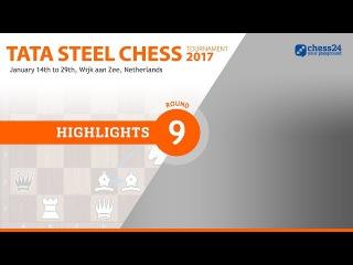 Game of the Day - Carlsen - van Wely - 2017 Tata Steel Masters