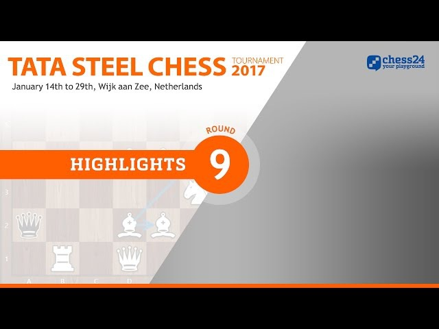 Game of the Day - Carlsen - van Wely - 2017 Tata Steel Masters