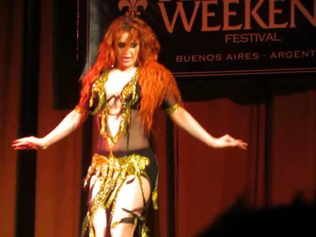Oxana Bazaeva | Оксана Базаева - Show in Argentina - Tabla