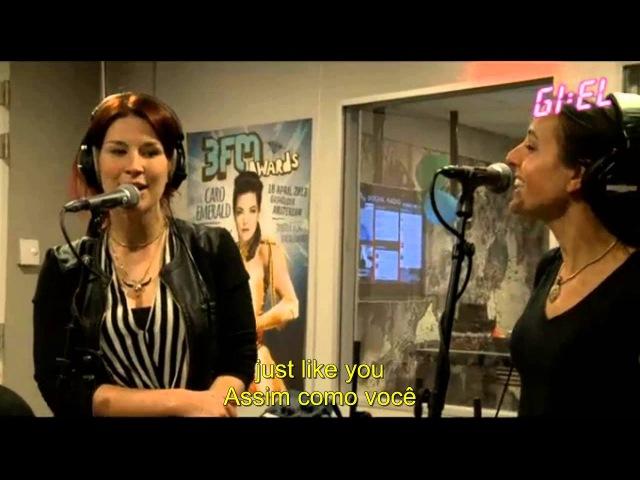 Delain - cover 'Mermaid' by Train Live at 3fm GIEL Legendado ENG PT