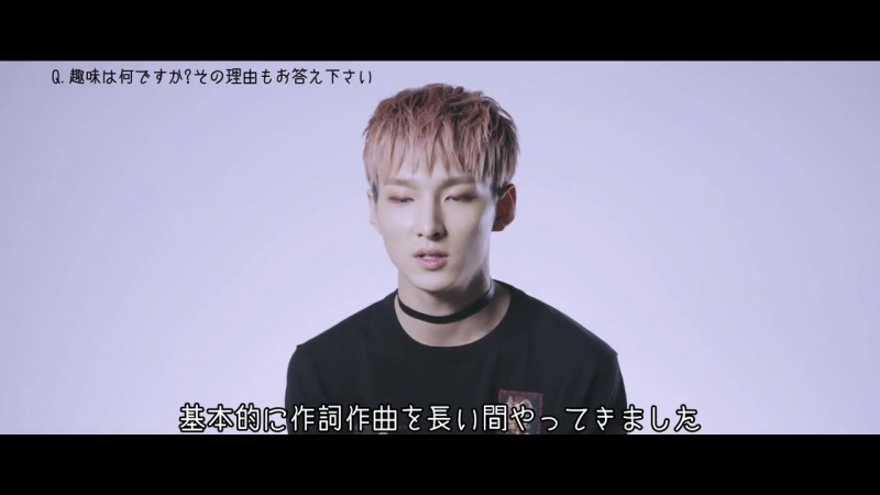 SF9【9日連続メンバー紹介動画⑥】~ジュホ