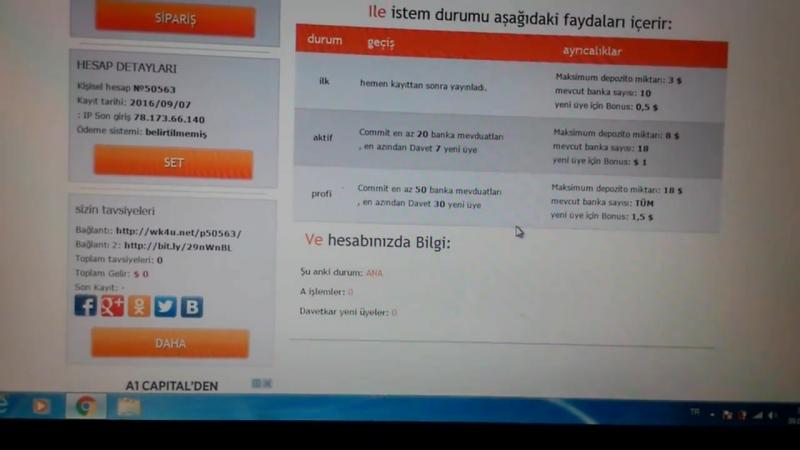INTERNETE 20 DAK. AYIRARAK PARA KAZANMA - LİNK- wk4u.netp107357