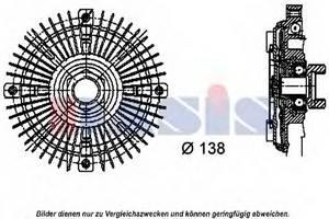 Сцепление, вентилятор радиатора для AUDI V8 (44_, 4C_)