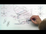 15 - 12. Drawing an Odd Vehicle using Reference Planes plus Various Propellers Part 4