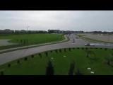 Водитель BMW устроил дрифт на трассе в Олимпийском парке, Сочи