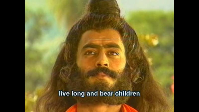 Махабхарата 08 серия из 94 1988 .Шива.Вишну.Брахма...Так кто ж ты,наконец? -Я- часть той силы,что вечно хочет зла и вечно соверш