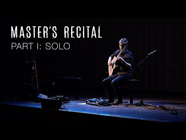 Master's Recital - Soenke Meinen - PART I: solo