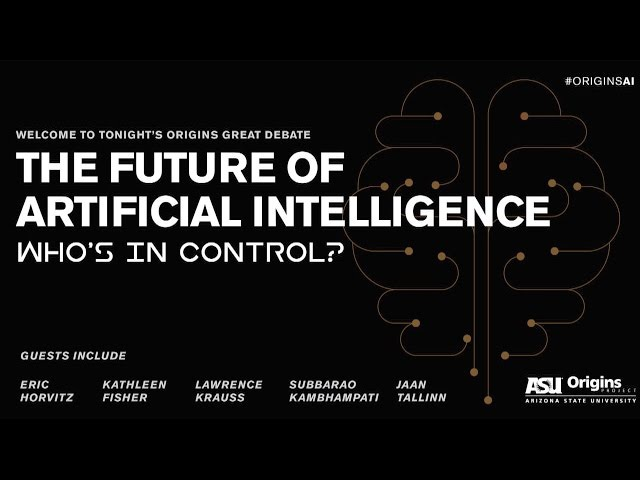 Great Debate - Artificial Intelligence Who is in control (OFFICIAL) (Part 01)