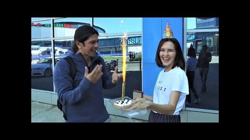 Cumpleaños de Rosalío l CHOCAMOS CONTRA AUTO l Los argentinos en Rusia