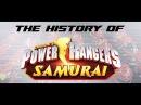 Power Rangers Samurai, Part 1 - History of Power Rangers