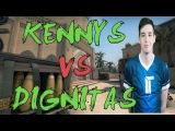 CSGO POV Titan kennyS vs Dignitas (2718) mirage @ Gfinity 2015 Summer Masters 1