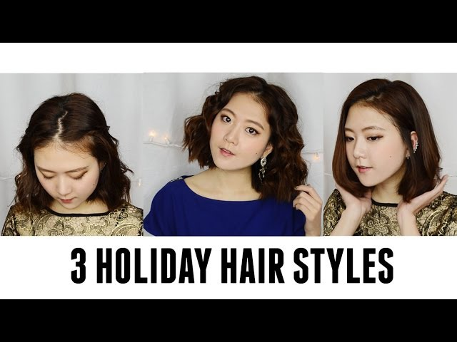 NUME | 3 Holiday Hair Styles