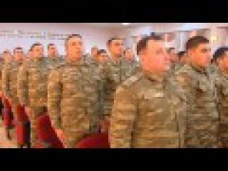 Prezident, Ali Baş Komandan yeni hərbi şəhərciyin açılışında