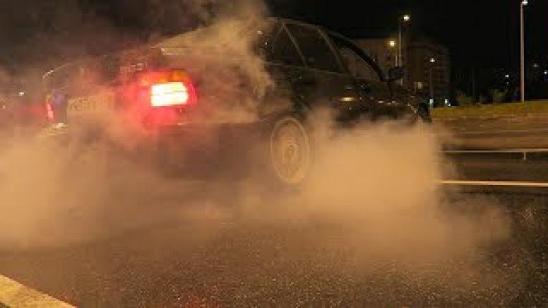 BMW E36 (МАТРЕШКККА) - ЗАМЕРЫ ПОСЛЕ ТЮНИНГА! ДРИФТ!