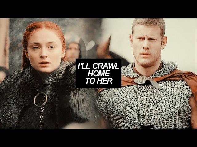 Dickon Sansa   I'll crawl home to her (AU)