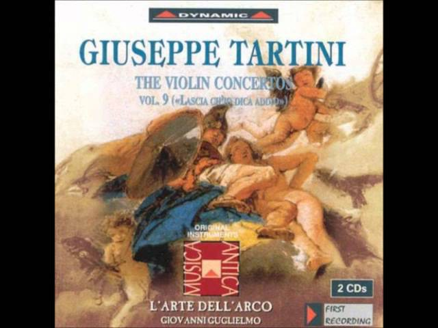 Tartini Violin Concertos Vol 9